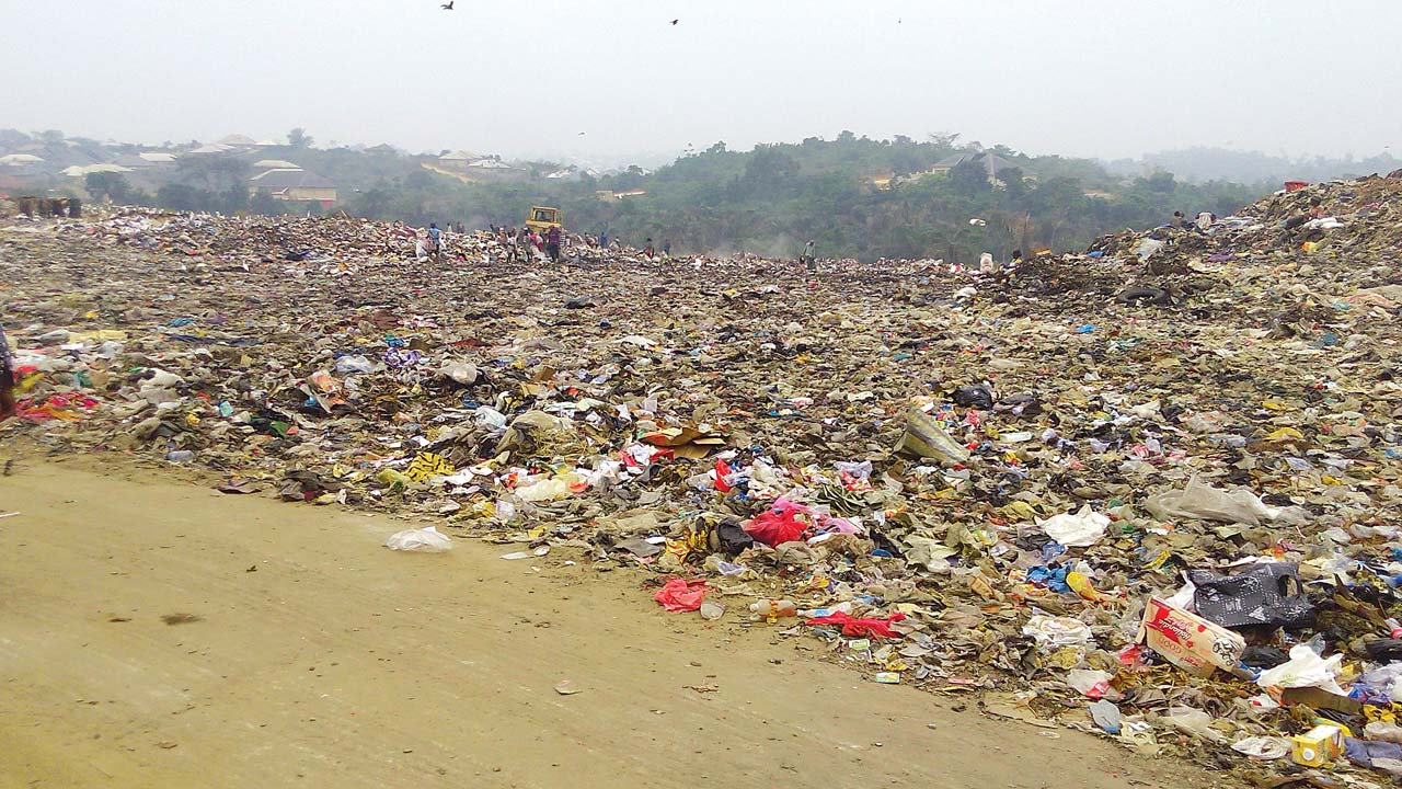 Ikot Effanga Dumpsite in Calabar Municipal Council