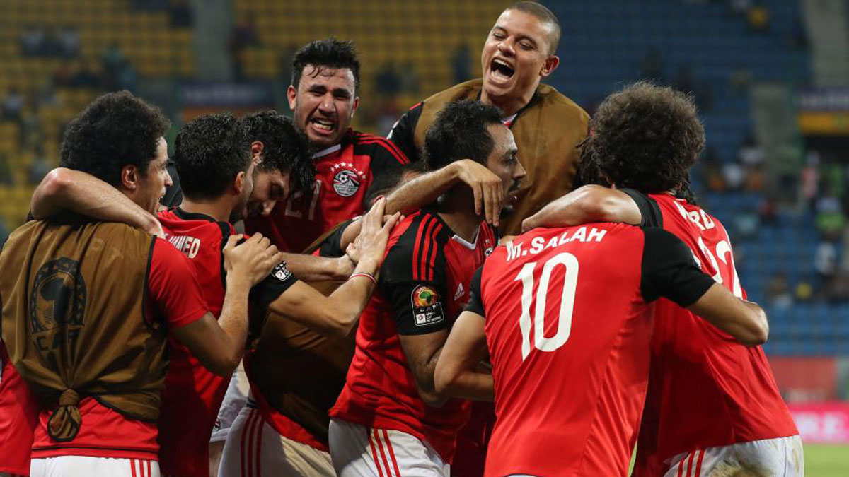 The Pharaohs of Egypt celebrate victory