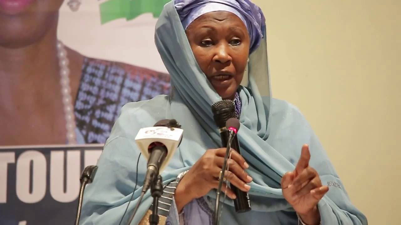 Fatoumata Jallow-Tambajang is often described as the woman who persuaded The Gambia's divided opposition parties to club together and field a single candidate in the December 1 election Barrow eventually won. PHOTO: YOUTUBE