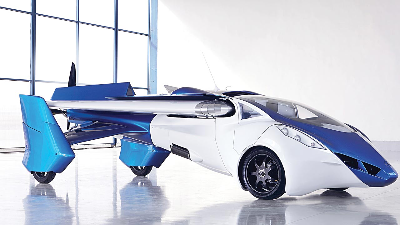 Airbus' flying car