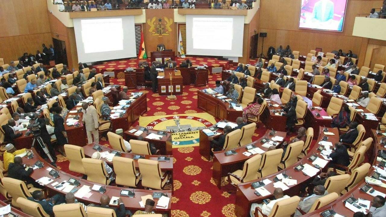 Ghana MPs. PHOTO: Buzzghana