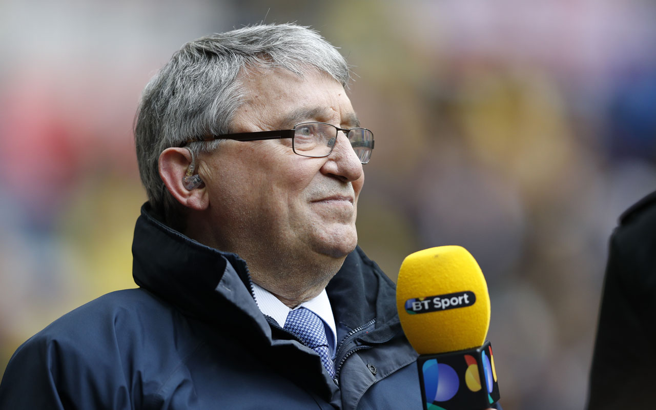 Former England and Watford manager Graham Taylor attending the FA Cup semi-final football match between Crystal Palace and Watford at Wembley Stadium in London on April 24, 2016. Former England manager Graham Taylor has died of a suspected heart attack at the age of 72, his family announced on January 12, 2017. Taylor made his name as the mastermind behind Watford's rise to the English top-flight in the 1980s and also enjoyed a successful spell as Aston Villa boss before spending three years as England manager. / AFP PHOTO / ADRIAN DENNIS /