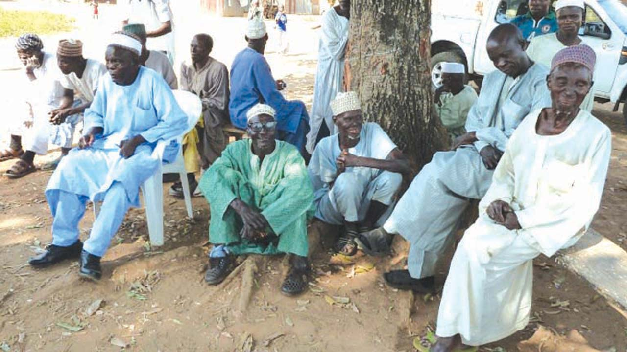 Nigerians suffering leprosy PHOTO: The Leprosy Mission