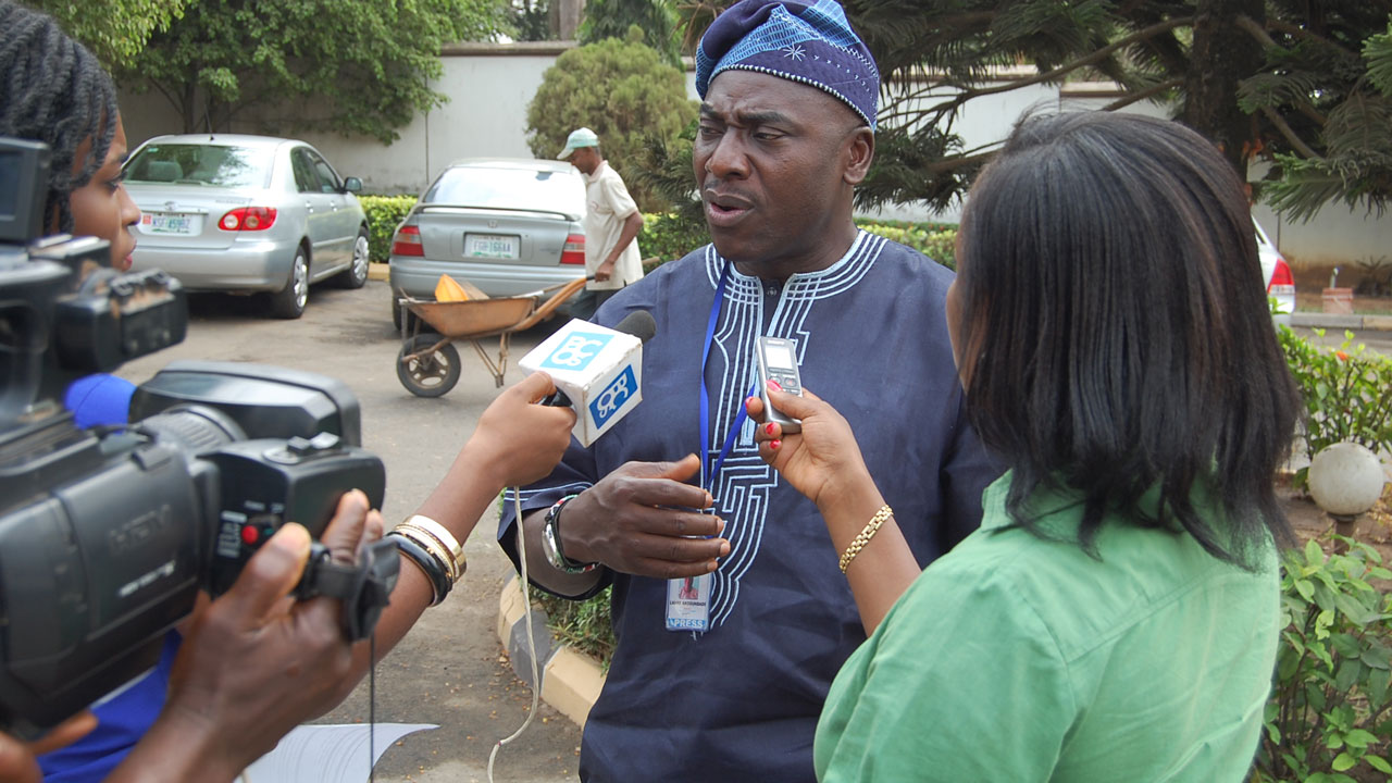 Director of IPC, Mr. Lanre Arogundade