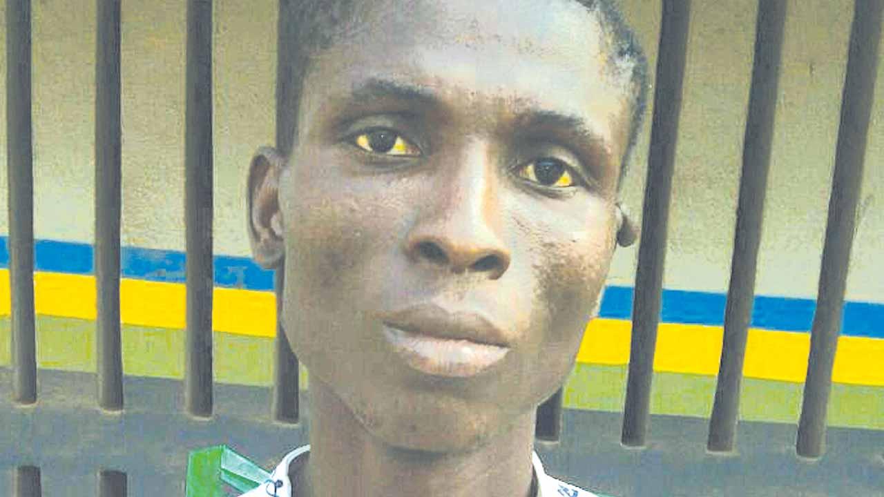 The suspect, Oguntade
