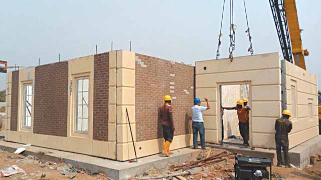 Ctsr s precast concrete system holds promise for mass housing property the guardian nigeria - Precast concrete houses ...