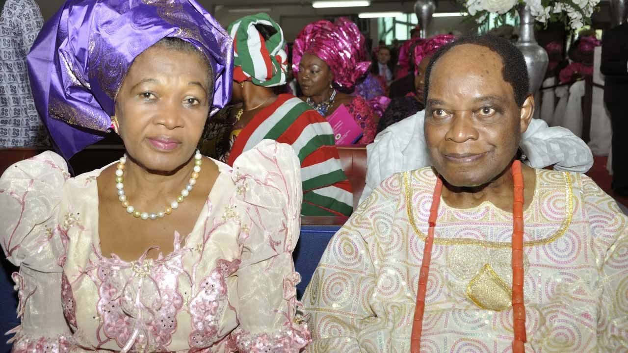 Chief Sunny Iwedike Odogwu and his wife