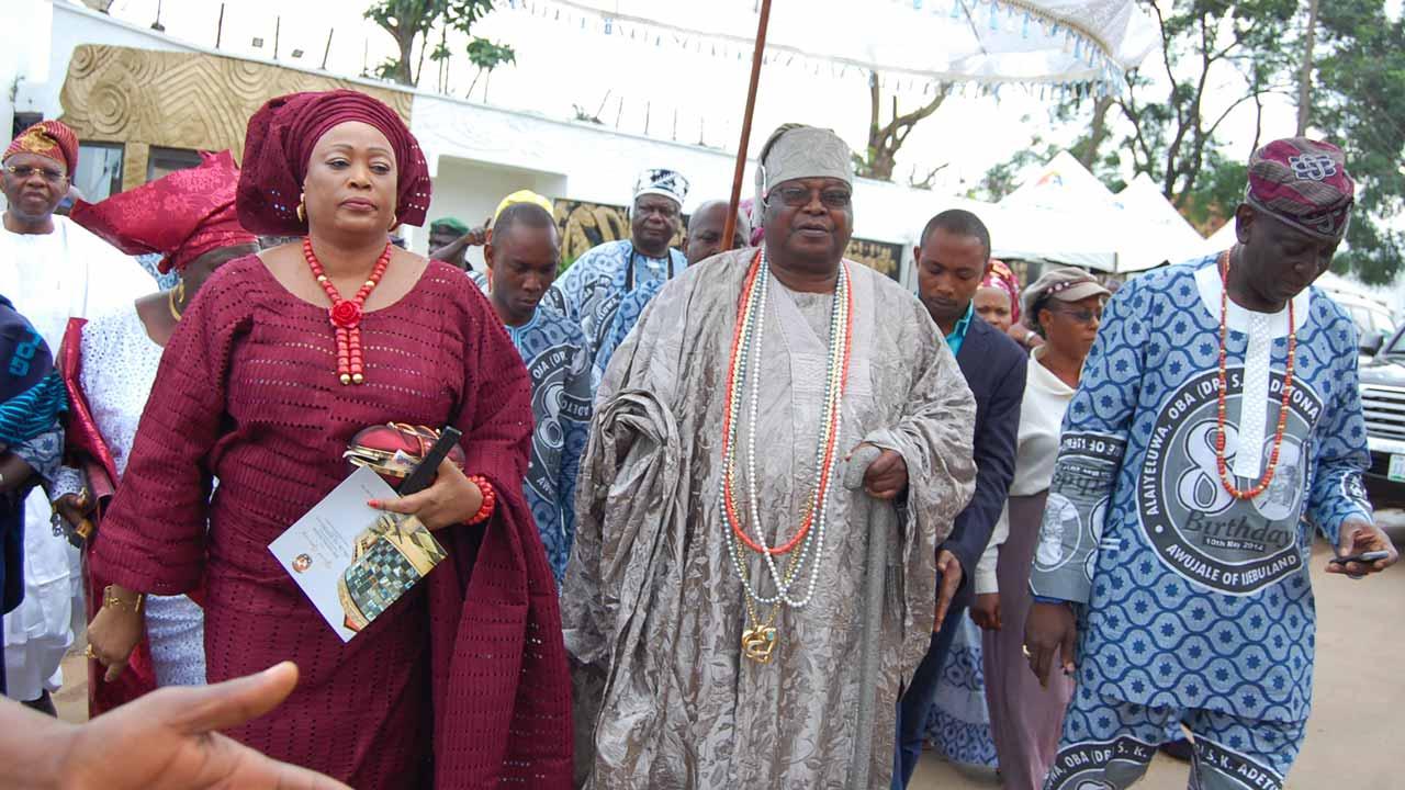 Awujale of Ijebu land, Oba Sikiru Kayode Adetona Ogbagha II