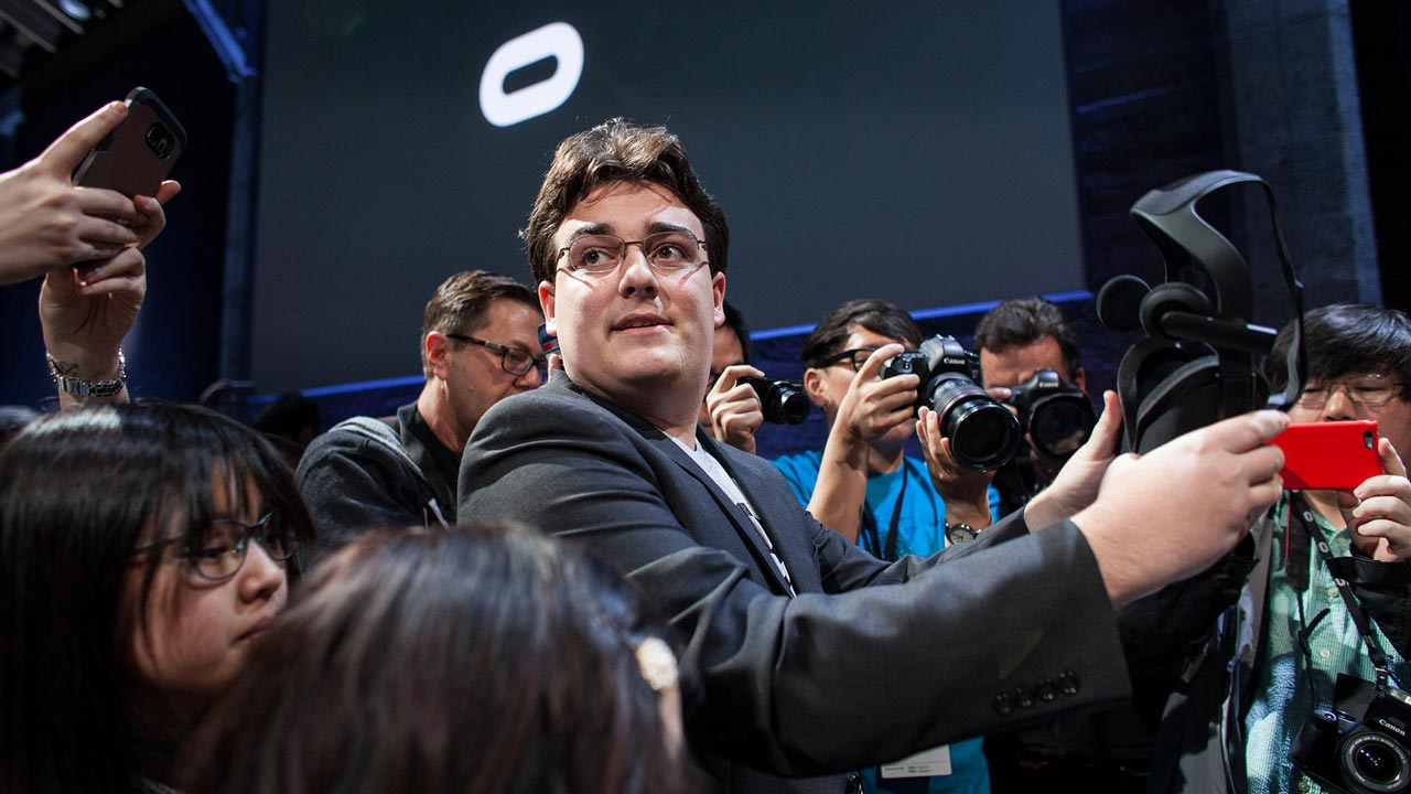 Palmer Luckey, founder and inventor of Oculus VR. Photographer: Ramin Talaie/Corbis via Getty Images