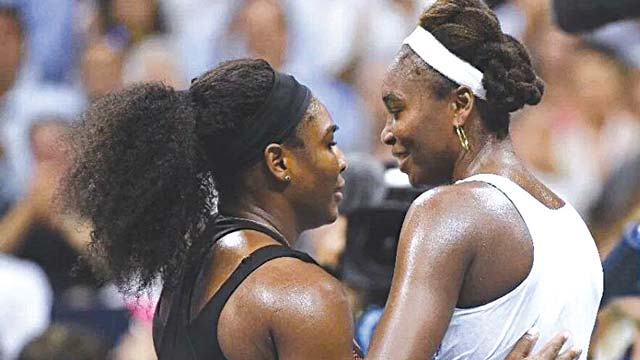 All eyes will be on the Williams sisters today as they battle for Australian Open crown in Melbourne