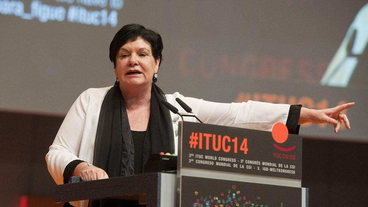 ITUC General Secretary, Sharan Burrow