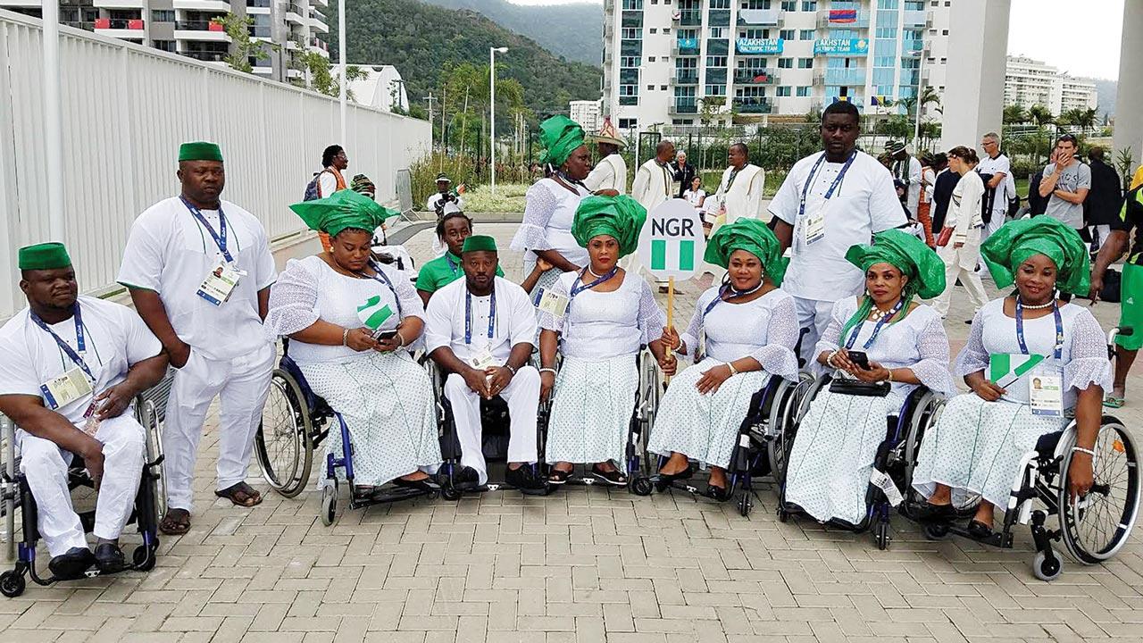 Nigerian Paralympic Team
