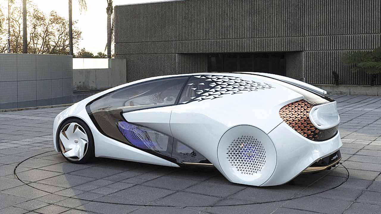 Toyota's driverless concept-i car
