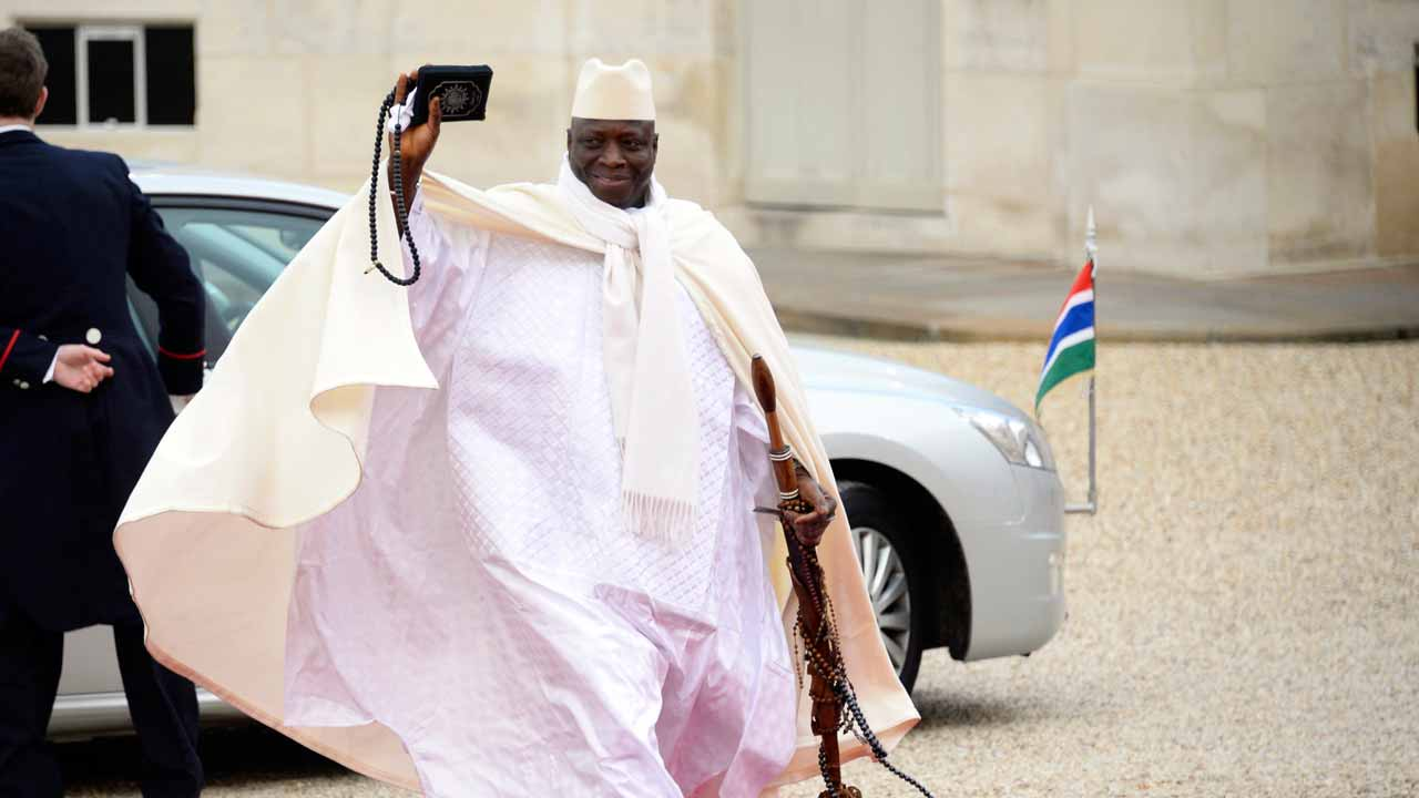 Gambia says it seizes $50 million of ex-president's assets