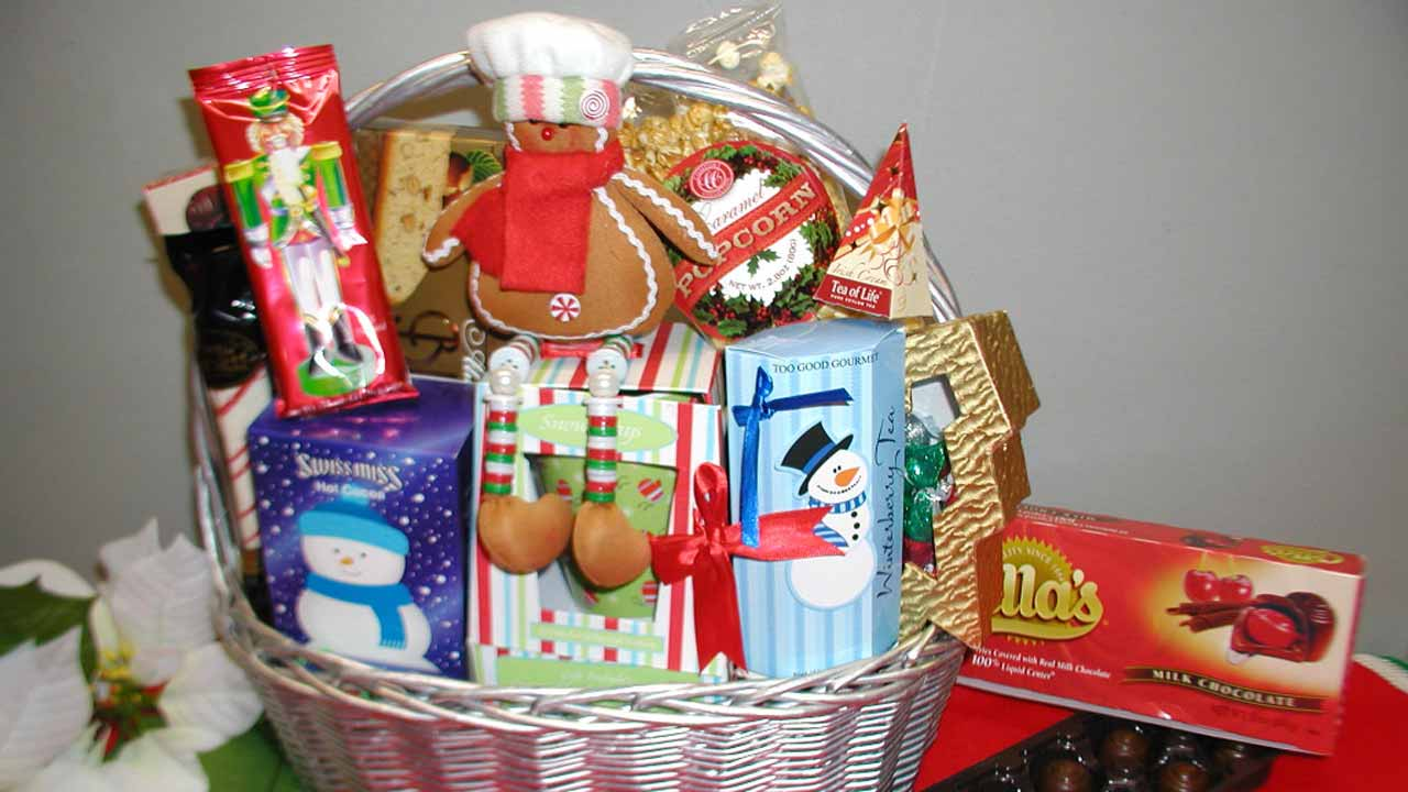 A basket of hamper