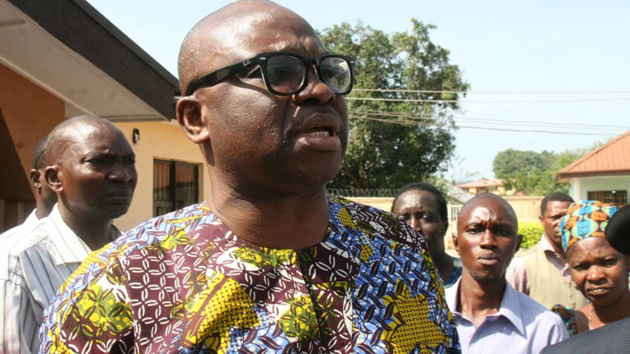 Governor Ayodele Fayose of Ekiti State