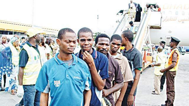 Dark Libyan People