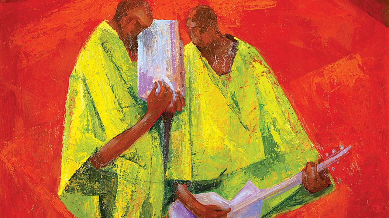 Rare enwonwu grillo works lead africa now auction in london