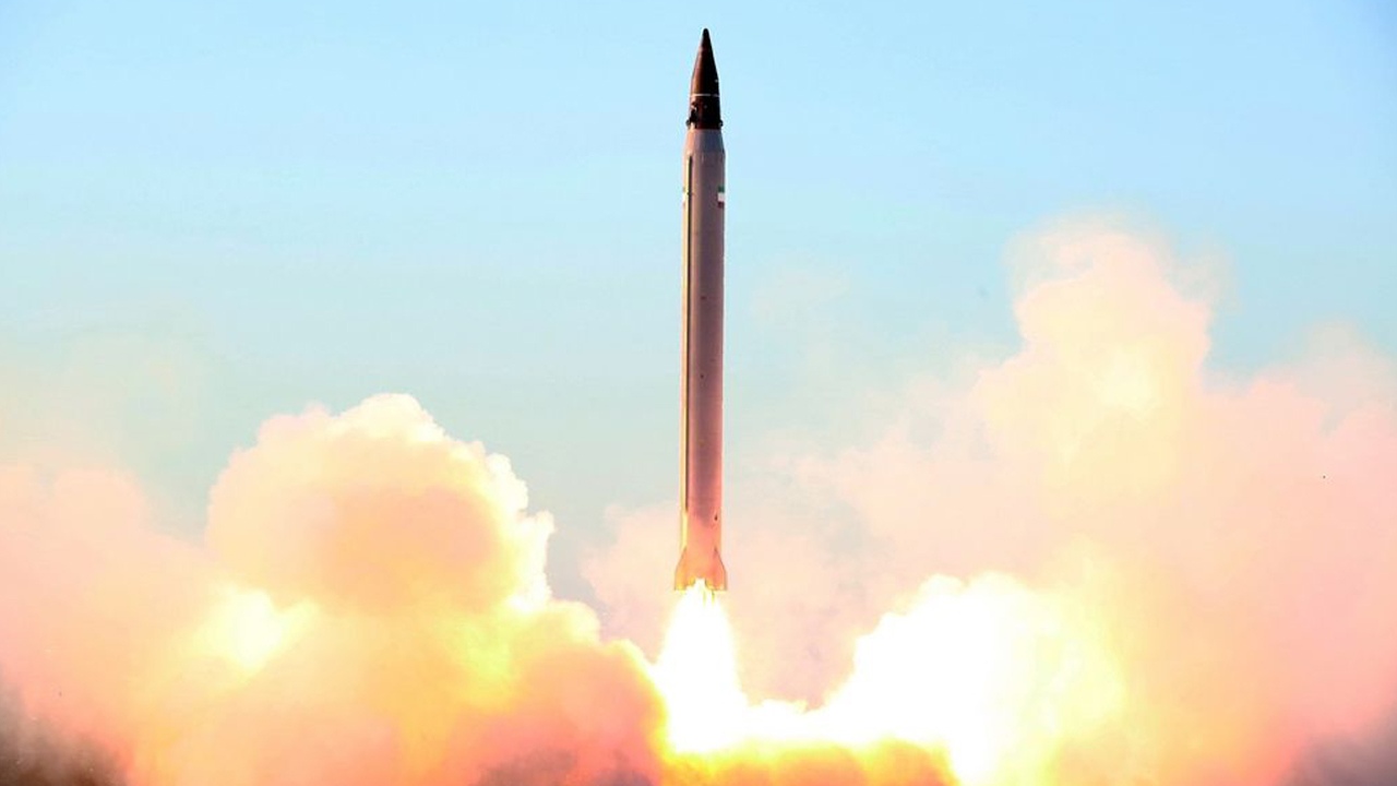 A UN Security Council resolution bans Iran from developing missiles that can carry nuclear warheads. PHOTO: AFP