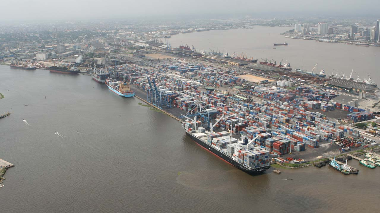 Image result for LAGOS PORT
