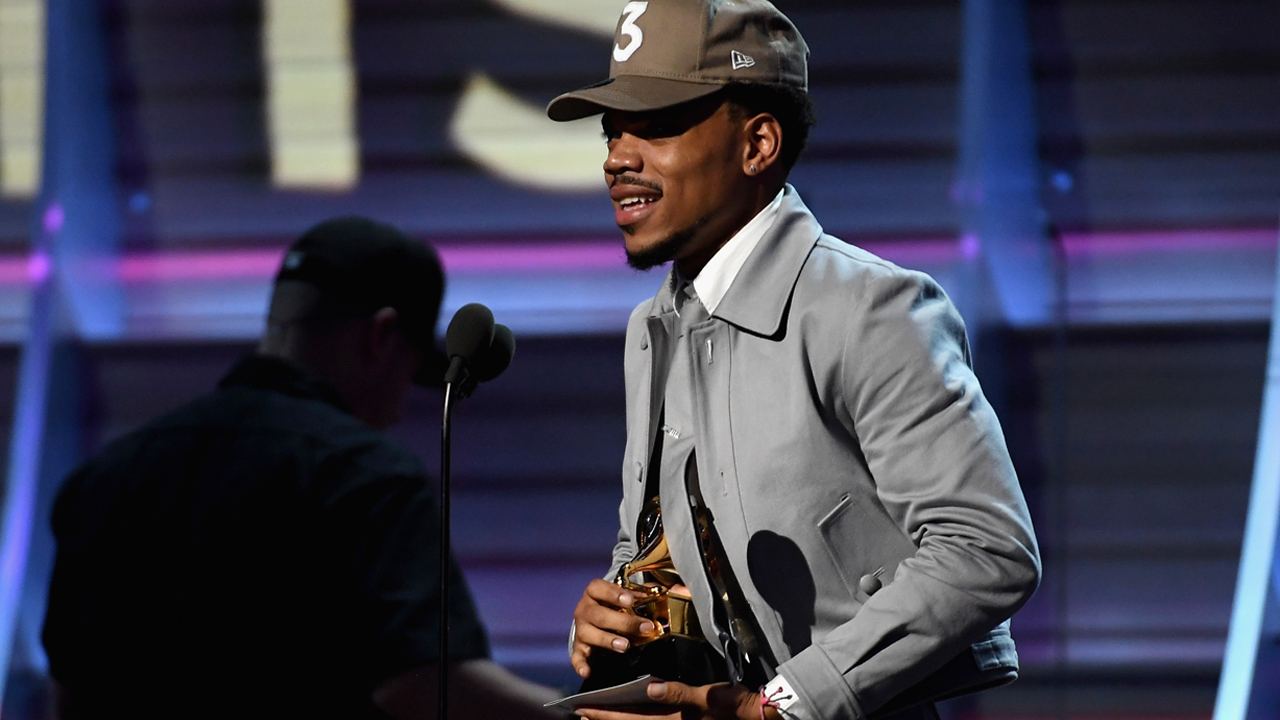 The coloring book grammy - Recording Artist Chance The Rapper Accepts The Award For Best Rap Album Onstage During The 59th Grammy Awards At Staples Center On February 12