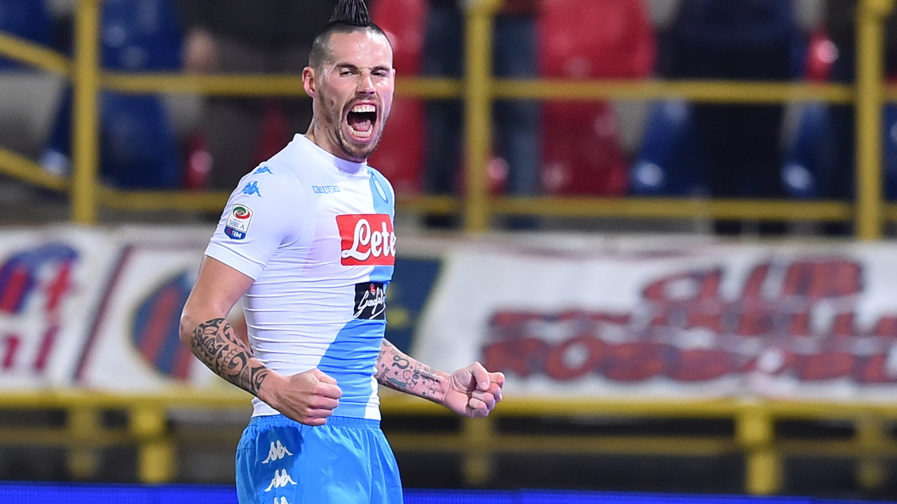 Marek Hamsik chases Maradona s record — Sport — The Guardian