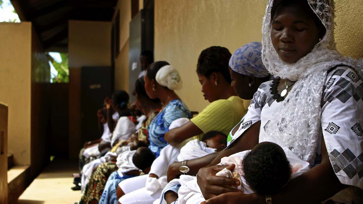 Image result for Maternal and child health in ;lagos