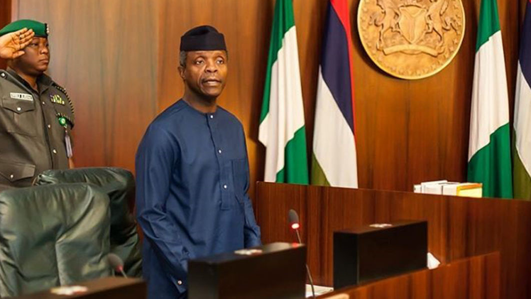 Government demolishes shops ahead of Osinbajo's visit, over 22,000 traders affected