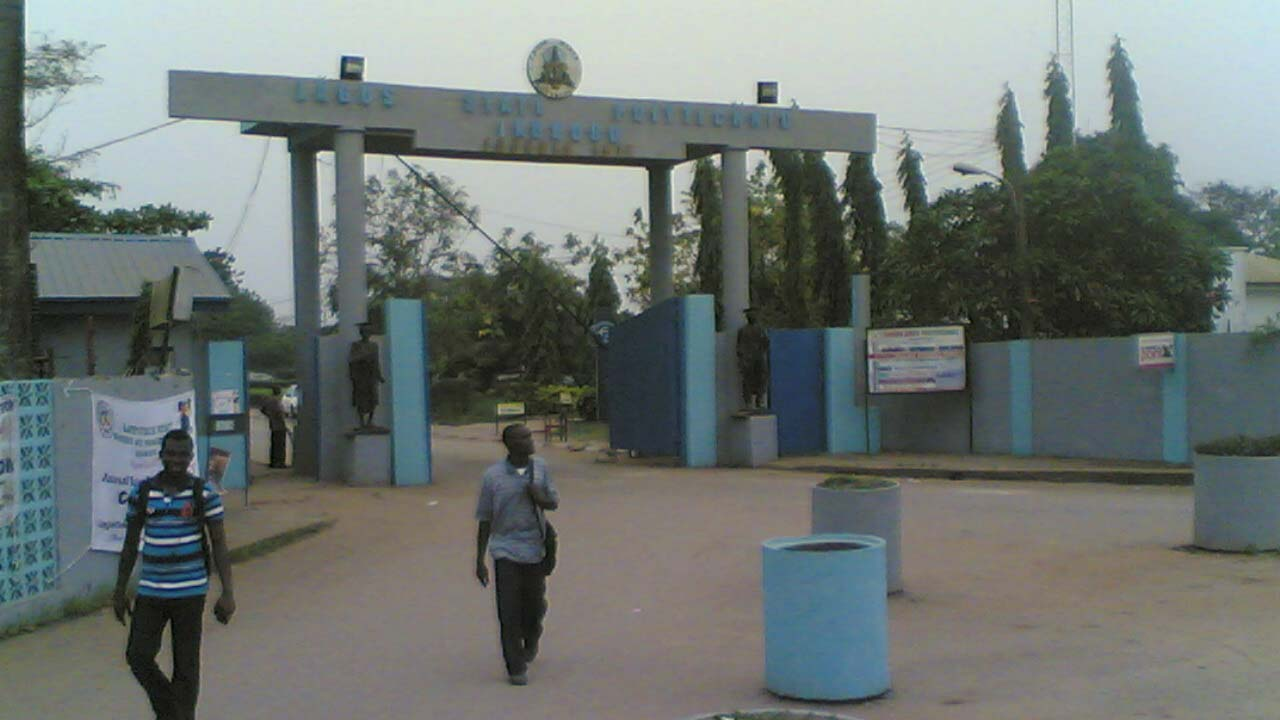 Main Entrance, LASPOTECH Ikorodu. Photo: Guardian Nigeria