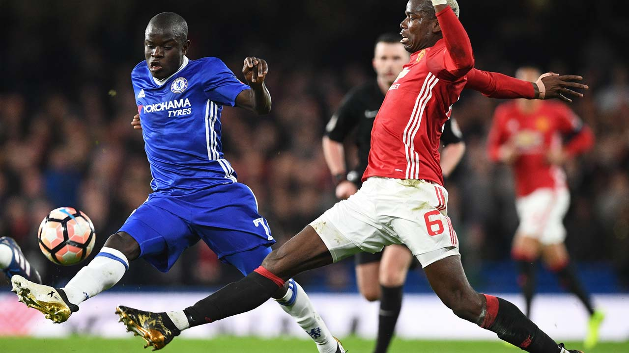 SPORT: Chelsea-Man Utd battle to be Cup kings in England's other showpiece