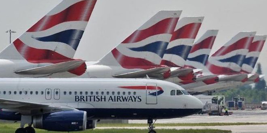 British Airways cabin crews on strike