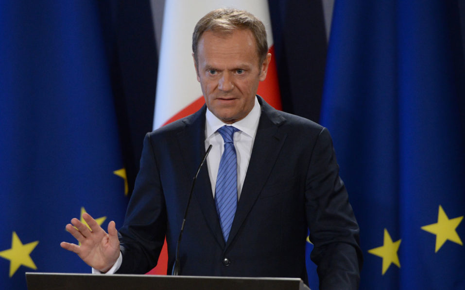 EU's Tusk to warn May 'more work' needed for Brexit deal