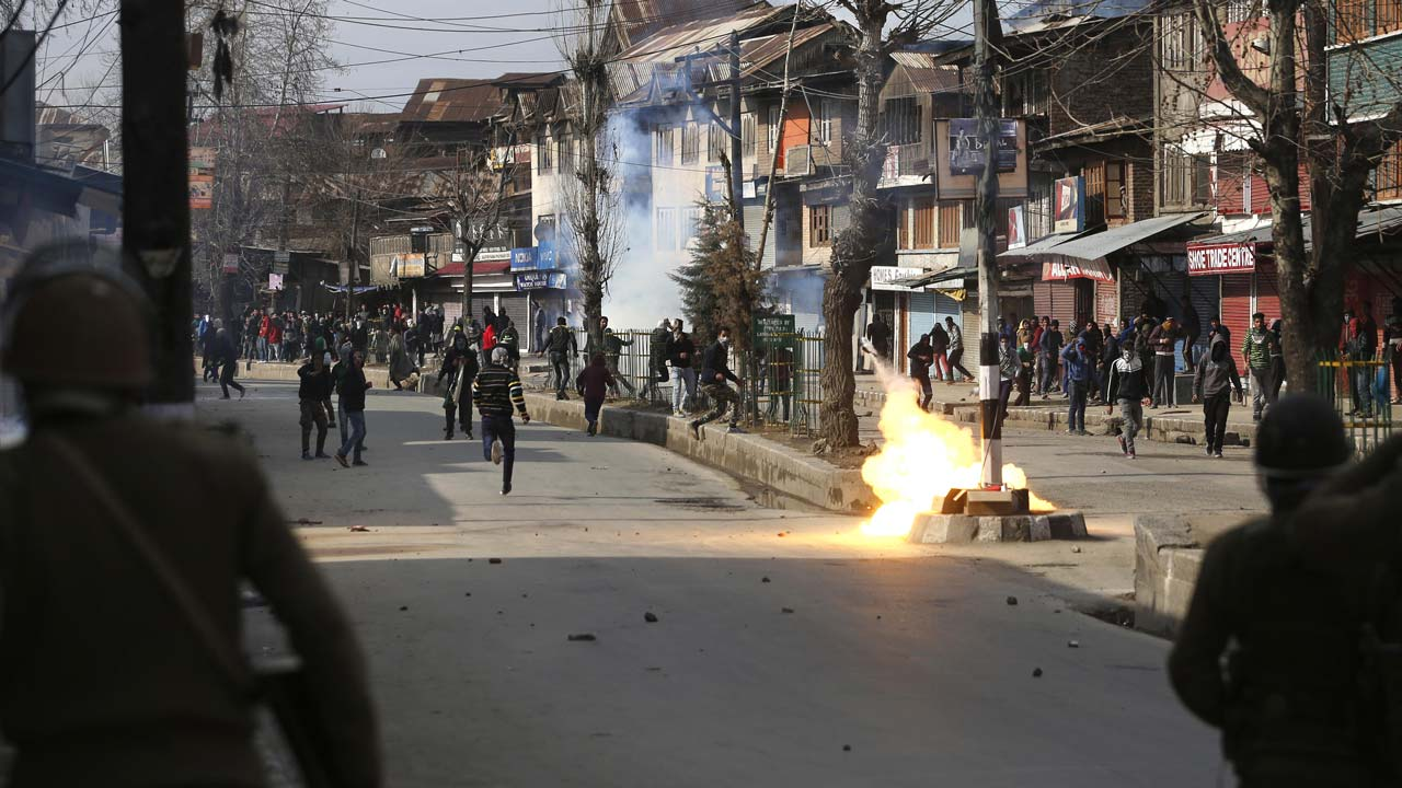 Two Hizbul militants killed in separate encounters in Kashmir