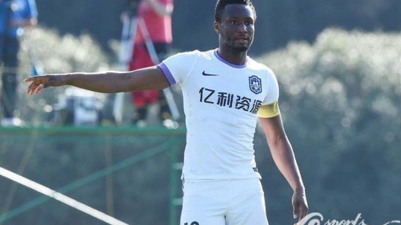 Mikel nominated for Player of the Year Award in China