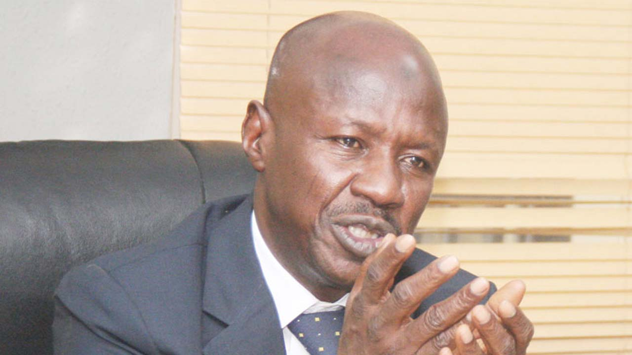 Magu gets global endorsement as Nigeria improves in TI corruption index