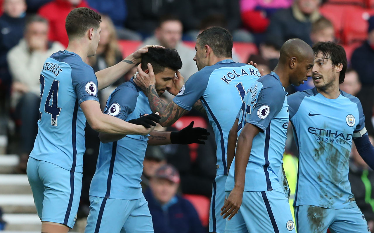Kompany scores as Manchester City climb to third with Southampton victory