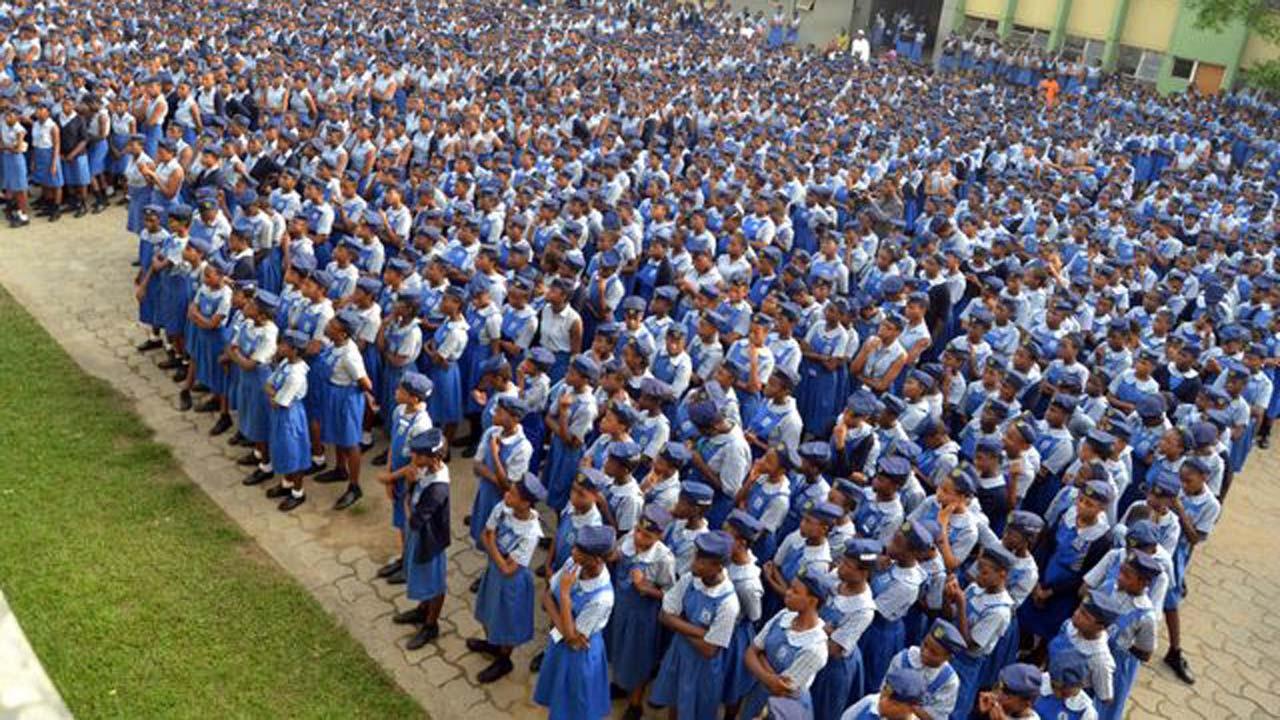 Students of Queen's College, Lagos. Photo: Guardian Nigeria