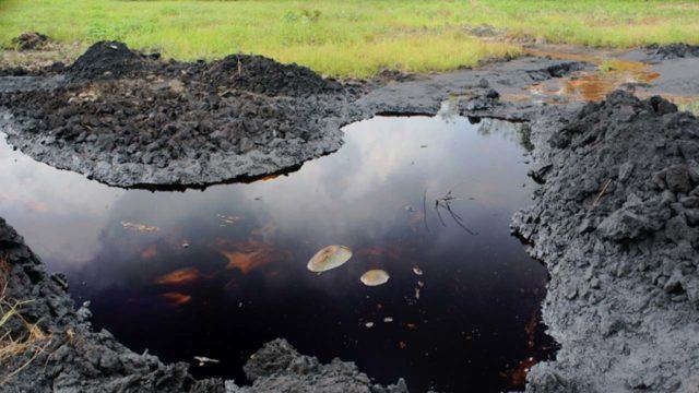 Oil spill destroys over 50 fishing settlements in Bayelsa community