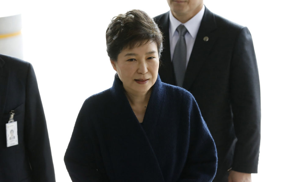 South Korean court extends detention of ousted former president