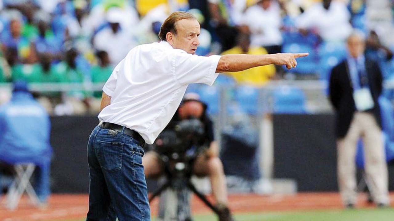 Image result for Rohr always in touch with NFF technical committee- Olajire