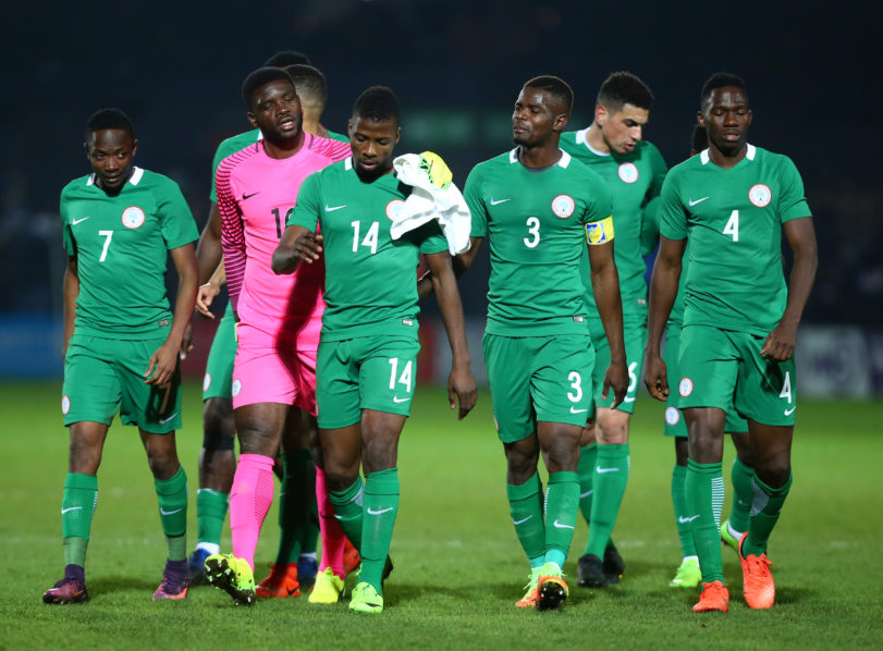 Super Eagles Nigeria move up in FIFA Ranking