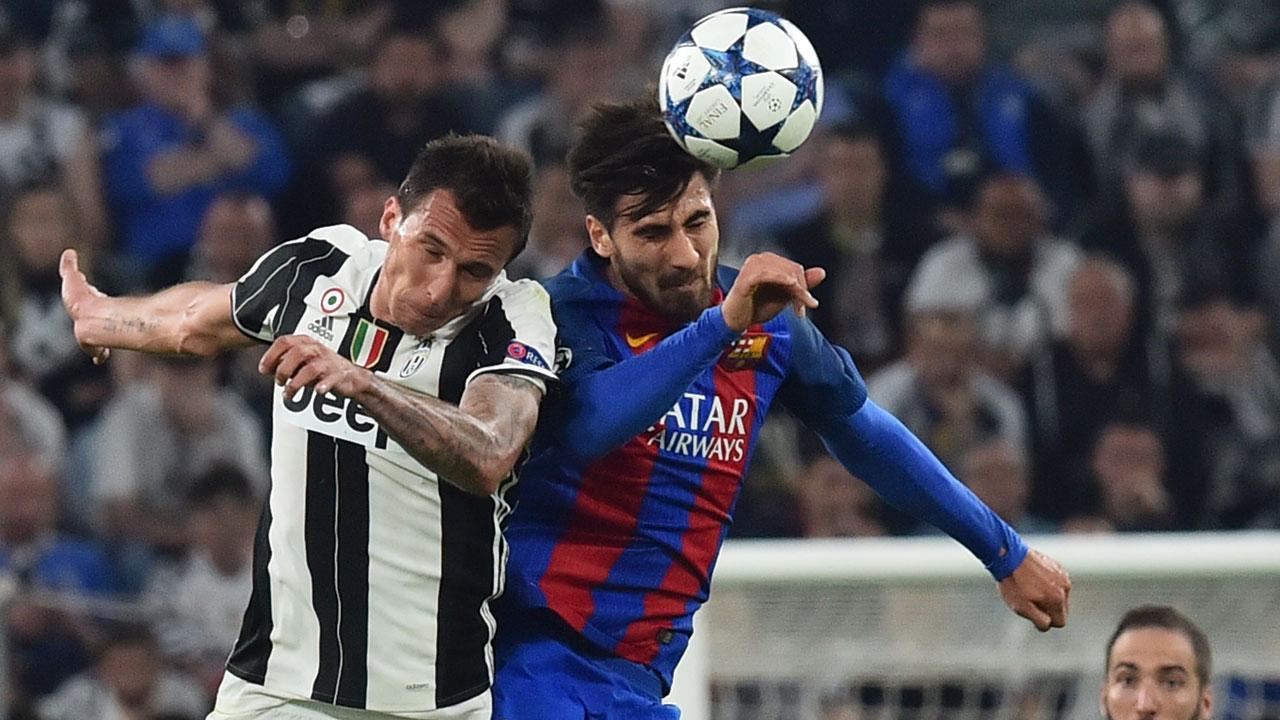 Dybala scores double as Juve stun Barcelona
