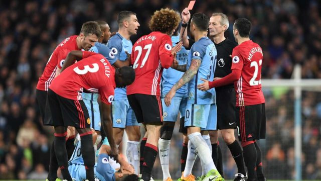 Manchester derby fever grips England