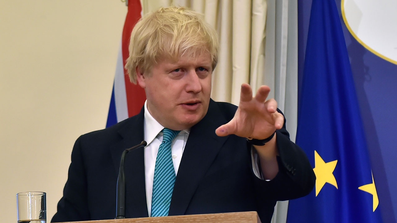 Boris Johnson looks for happy Brexit resolution