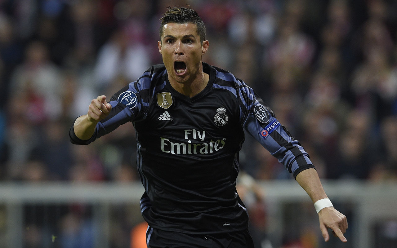 Ronaldo's milestone goal gives Real advantage