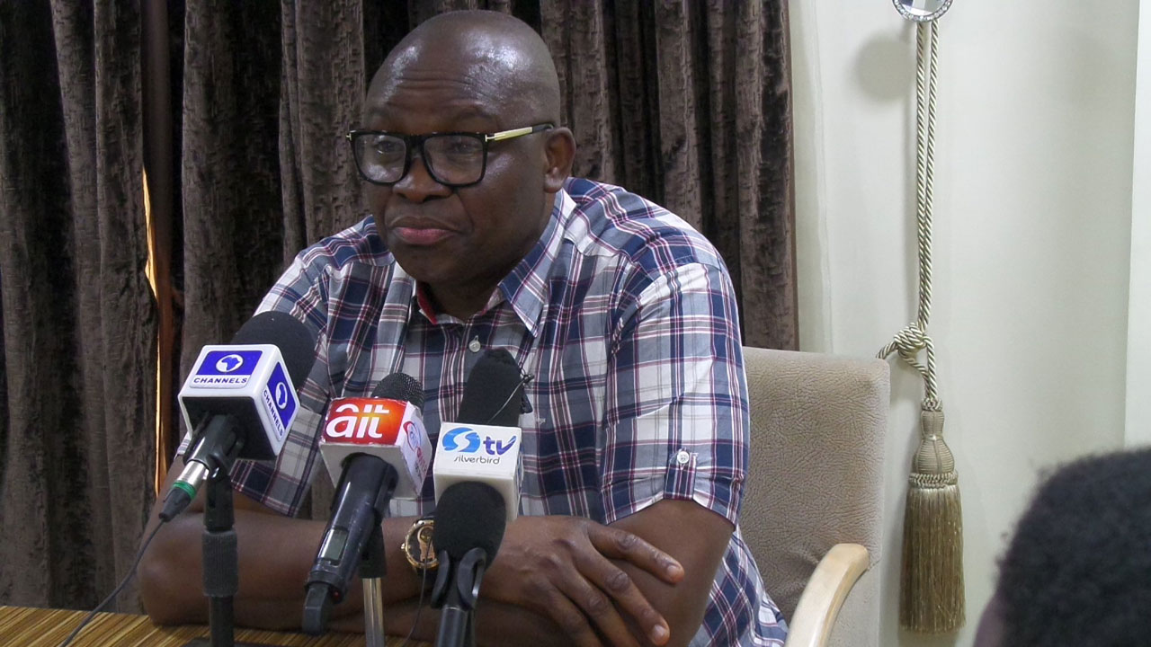 I stand with Nigerians on hate speech bill, says Fayose