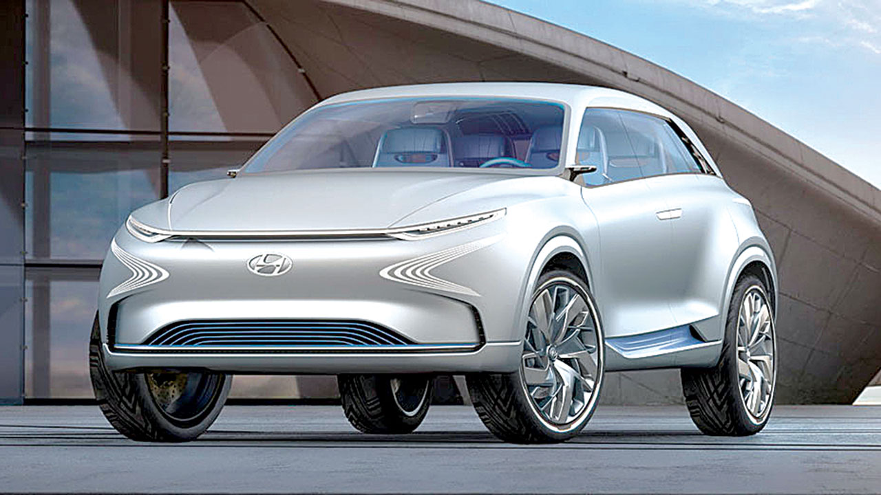 Hyundai Captures The Future With Fuel Cell Hydrogen Car