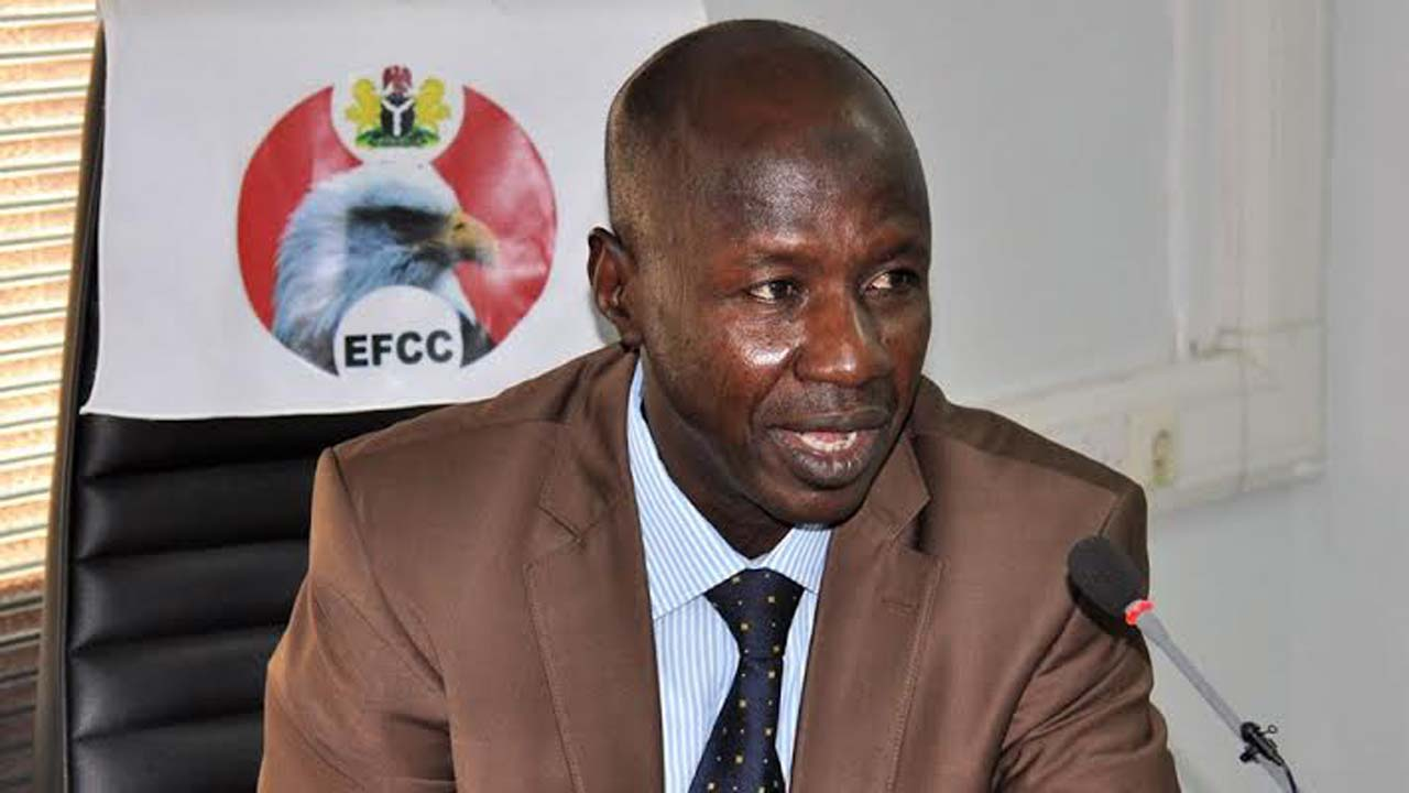We'll go after looters hiding in Ghana - EFCC Boss, Ibrahim Magu