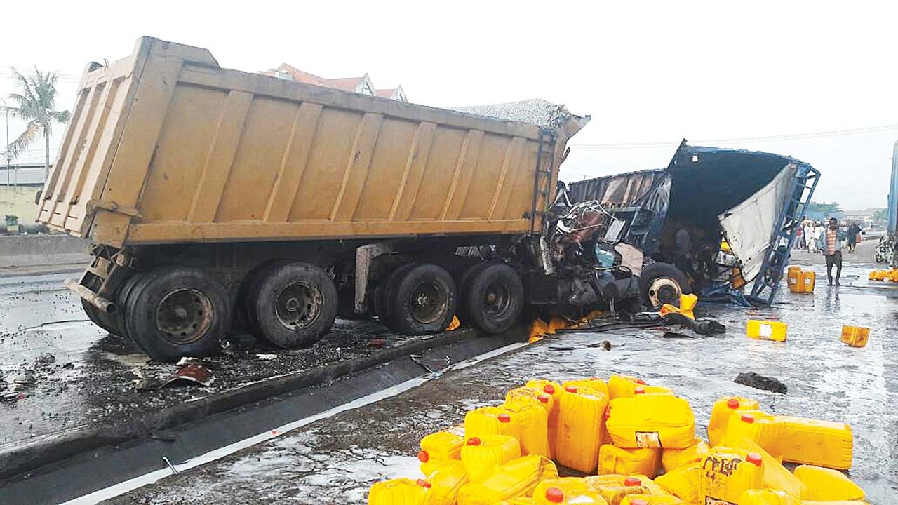 Image result for truck accident in nigeria