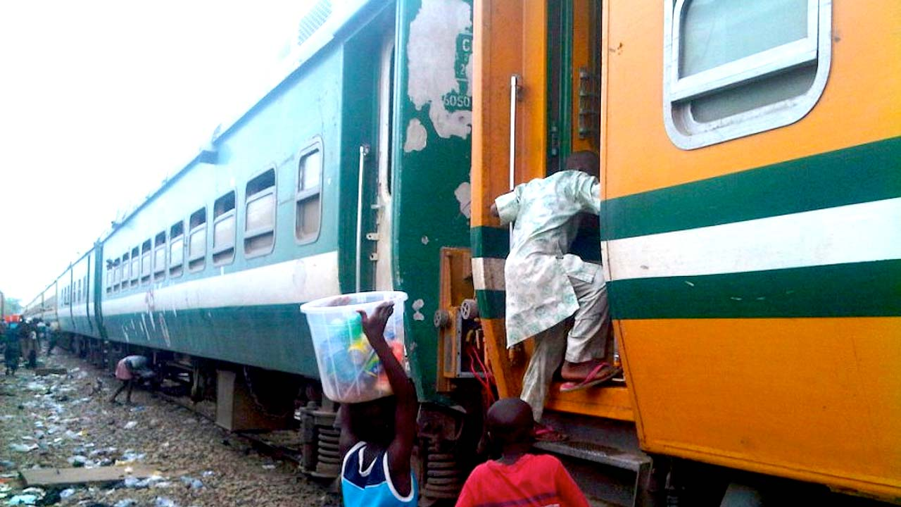 Tears, protests as NRC pulls down structures over Lagos-Ibadan rail tracks